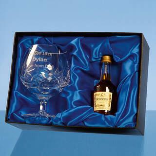 Mini Brandy Set Presentation Box Box Only