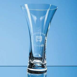 18cm Neptune Plain Trumpet Vase
