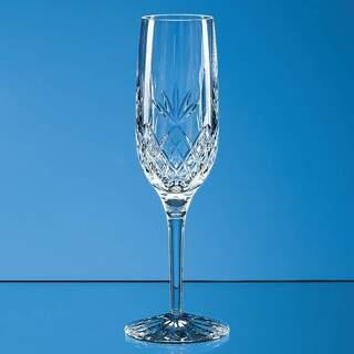 180ml Blenheim Lead Crystal Full Cut Champagne Flute